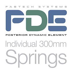 PDE Individual 300mm Springs
