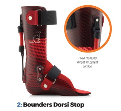 Sutti Bounders Dorsi Stop - Available in one (1) length and three (3) durometers.