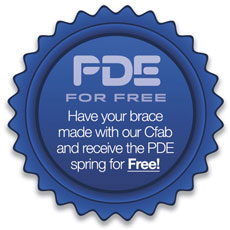 The choice is yours. Purchase PDE as a do it yourself kit or have our Cfab make it for you and the PDE spring is FREE!