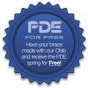 PDE for Free, when you use our CFab
