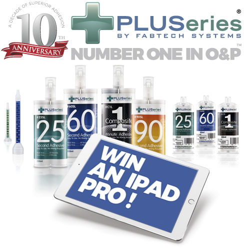 PLUSeries Adhesives by Fabtech Systems - 10 Year Anniversary Contest